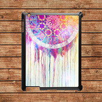 iPad 2 case,iPad hard case,iPad 3 case,iPad case--Dream Catcher,in plastic case