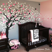 Wall Decals  Cherry Blossom Tree  Elegant Style  by SimpleShapes