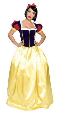 Super Deluxe Snow White Costume - Snow White Costumes