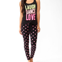 Neon Love PJ Set