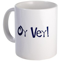 Oy Vey Mug by CafePress