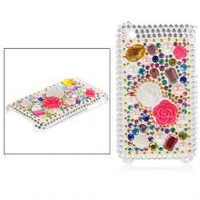 Crystal Back Cover/ Skin Case for iPhone 3G/3GS (Silver)