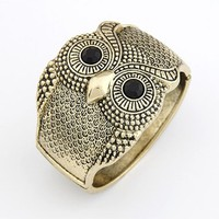 *Free Shipping* Retro Owl Bracelet 10113059 from MaxNina