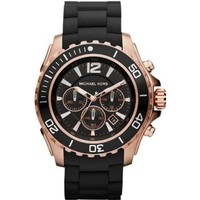 Amazon.com: Michael Kors Watches Drake (Black with Rose Gold): Michael Kors: Clothing