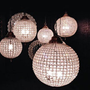 Globe Chandeliers - Pewter/Silver - Sweetpea &amp; Willow London