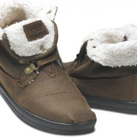 Botas - Highlands Brown Fleece Women's Botas | TOMS.com