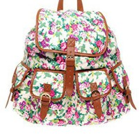 ASOS | ASOS Spring Floral Backpack at ASOS