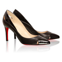 Christian Louboutin Duvette Cutout Pump black - $178