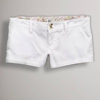 AE Twill Favorite Shortie | American Eagle Outfitters
