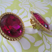 Decorative Vintage Clip On Earrings