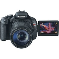 Canon - EOS Rebel T3i 18.0-Megapixel DSLR Camera with 18-55mm Lens - Black