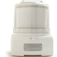 Cuisinart Classic Frozen Yogurt Ice Cream and Sorbet Maker White at Sur La Table