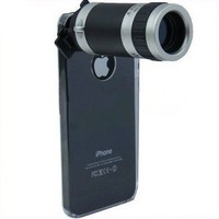 8x Zoom Mobile Phone Telescope Camera Lens for Apple Iphone 5