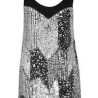 Rachel Gilbert Phillipa embellished chiffon mini dress - 55% Off Now at THE OUTNET