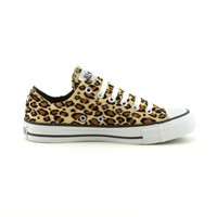 Converse All Star Lo Athletic Shoe, TanLeopard, at Journeys Shoes