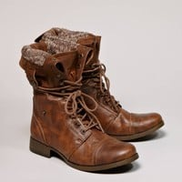 's Lace-up Boot (Brown)