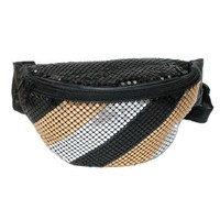 Sequin Fanny Pack - Multi Stripe