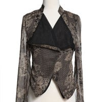 Urban 1972 :: What's New :: Victoria Paisley Sheer Jacket