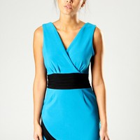 Rochelle Bodycon Wrap Dress at boohoo.com