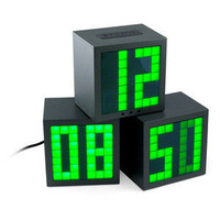 ThinkGeek :: Matrix Cube Alarm Clock