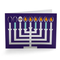 De-sign of the Times Card Set in Happy Hanukkah | Mod Retro Vintage Stationery | ModCloth.com