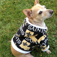 NFL New Orleans Saints Custom Dog Hoodie FREE by GypsyEyesClothing