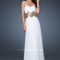 La Femme Dress 18622 at Peaches Boutique