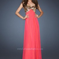 La Femme Dress 18608 at Peaches Boutique