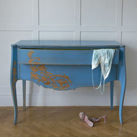 Oasis Blue Motif Chest - Sweetpea & Willow London
