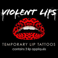 The Red Leopard Lip Tattoo : Violent Lips : Karmaloop.com - Global Concrete Culture