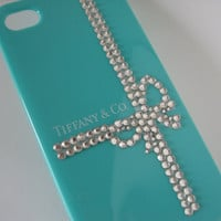 Tiffany iPhone case -  Center Ribbon Wrap, Tiffany iPhone 5 case, Tiffany iPhone 4S case, Tiffany iPhone 4 case, Tifanny Case