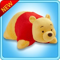 "Amazon.com: Pillow Pets® - Winnie The Pooh - Authentic Disney®- Large 18"" Folding Plush Pillow: Toys & Games"
