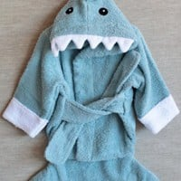 let the fin begin terry shark robe at ShopRuche.com