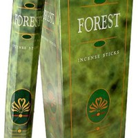 Forest Incense Sticks Six-pack (~20 Sticks Per Pack) Box