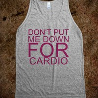 Cardio - Bands Bands and Bands