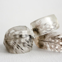 You choose   any 3 eco resin rings  holiday by RosellaResin