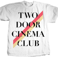 Two Door Cinema Club - Stripe T-shirts at AllPosters.com