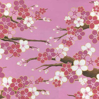 Pink wedding bells cherry blossoms - FREE U.S. SHIPPING