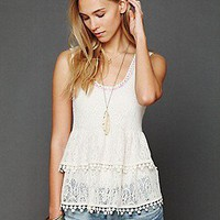 Free People Clothing Boutique &gt; Daydream Lace Tank