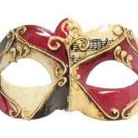 RedSkyTrader - Carnival Masquerade Mask with Bright Colorful Designs