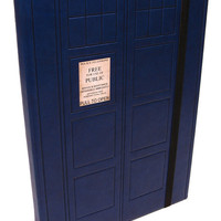 Doctor Who TARDIS Journal by HFSpecialtyProducts on Etsy