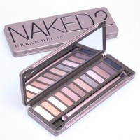 Urban Decay Naked 2 12 colors eyeshadow palette Laheron Edition
