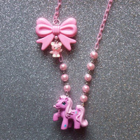Positively Pink - Pinkie Pie Party Necklace
