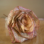 Shabby Chic Delight Vintage Paper Rose by ShelbyLynDesigns on Etsy