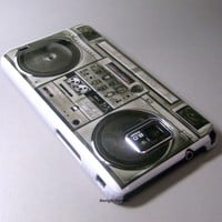 Classic Radio Cassette Player Cute HARD Case Cover for Samsung Galaxy S2 i9100
