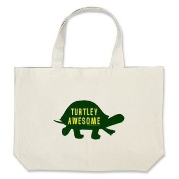Turtley Totally Awesome Bag from Zazzle.com
