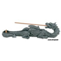 Dragon Incense Holder Collectible Scent Aroma Burner Sculpture