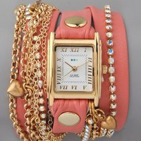 La Mer Collections Tokyo Crystal Wrap Watch