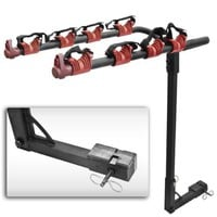4 Bicycle Bike Rack Hitch Mount Carrier Car Truck Bike Carrier