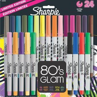 Sharpie 32893PP Ultra-Fine Point Permanent Marker, Assorted Colors, 24-Pack
